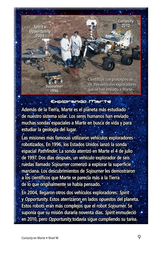 Book Preview For Curiosity on Mars Page 9