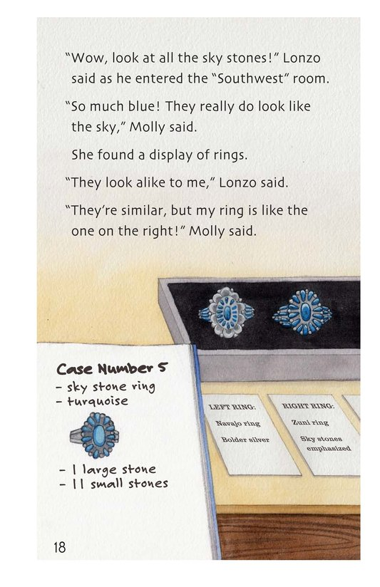 Book Preview For The Mystery of the Sky Stones Page 18