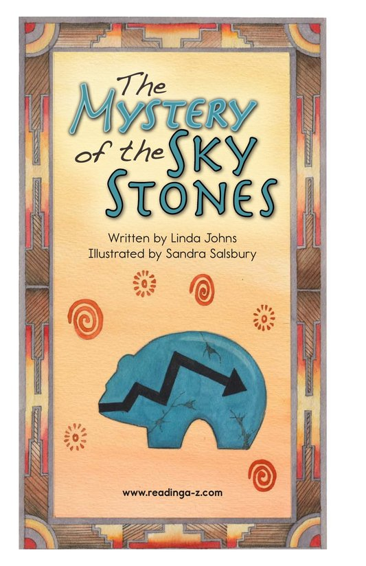 Book Preview For The Mystery of the Sky Stones Page 2