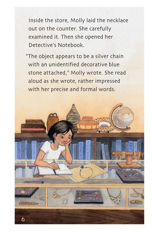 Book Preview For The Mystery of the Sky Stones Page 6