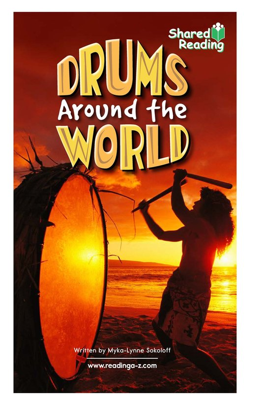 Book Preview For Drums Around the World Page 1
