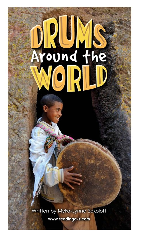Book Preview For Drums Around the World Page 2