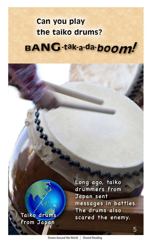 Book Preview For Drums Around the World Page 5