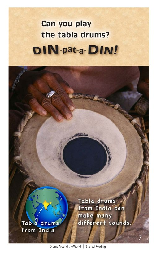 Book Preview For Drums Around the World Page 7
