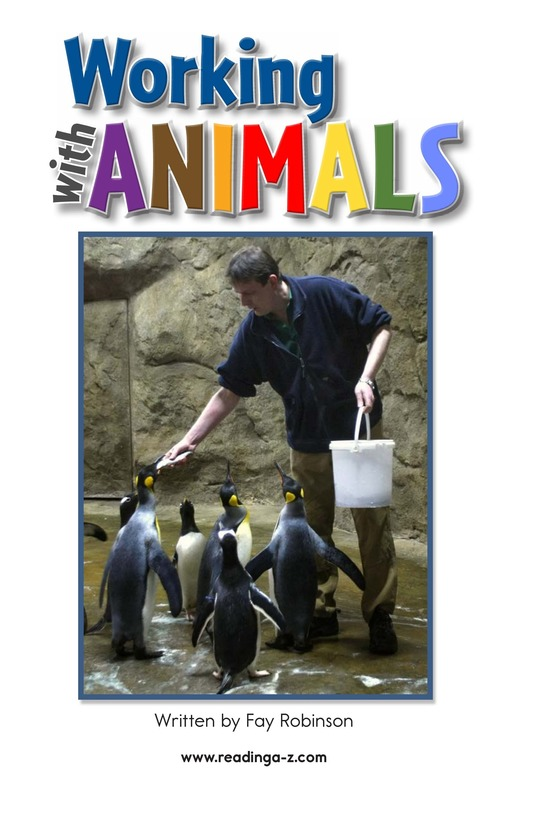 Book Preview For Working with Animals Page 2