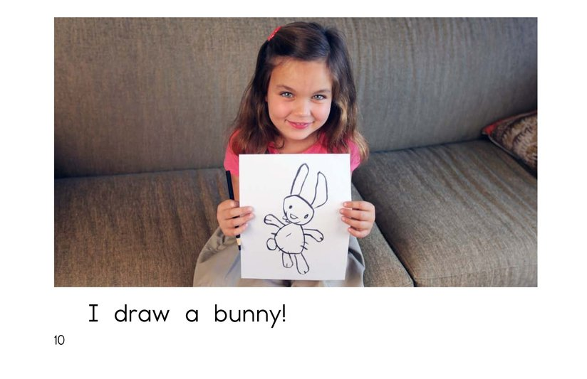 Book Preview For I Draw a Bunny Page 10
