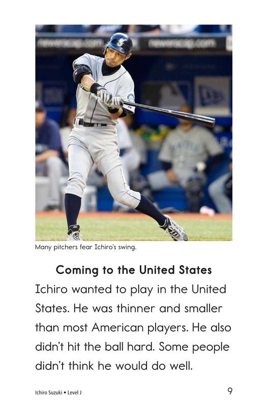 Book Preview For Ichiro Suzuki Page 9