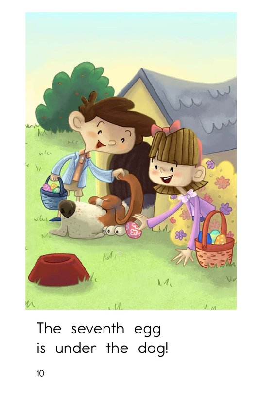 Book Preview For The Easter Egg Hunt Page 10