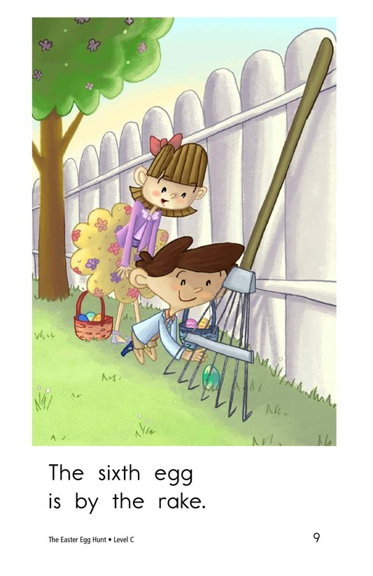 Book Preview For The Easter Egg Hunt Page 9