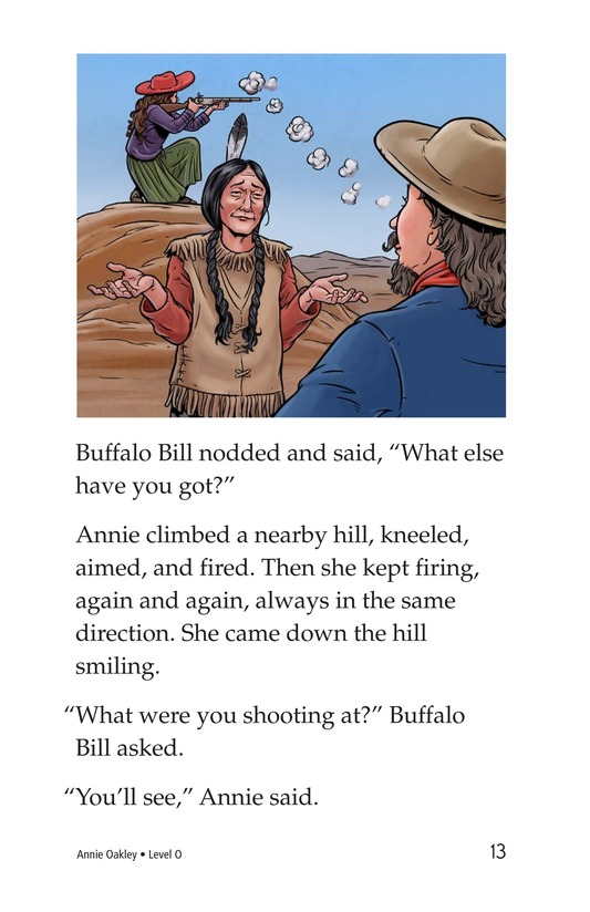 Book Preview For Annie Oakley Page 13