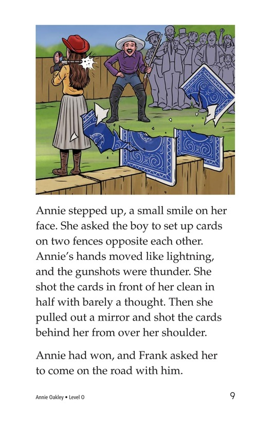 Book Preview For Annie Oakley Page 9
