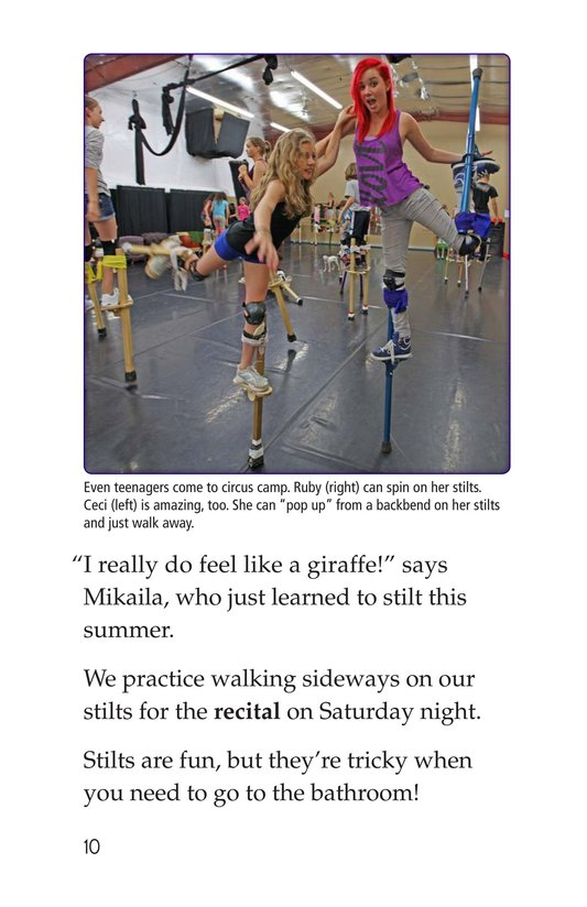 Book Preview For Off to Join the Circus Page 10