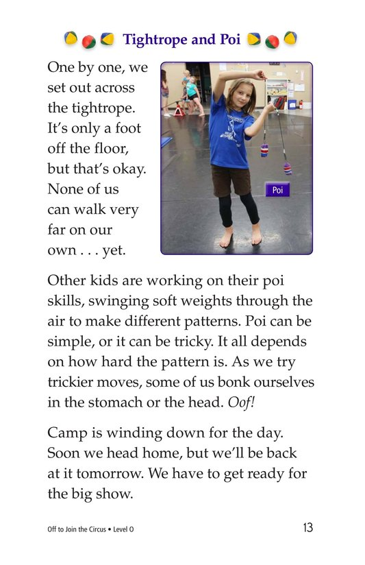 Book Preview For Off to Join the Circus Page 13