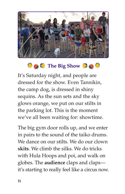 Book Preview For Off to Join the Circus Page 14