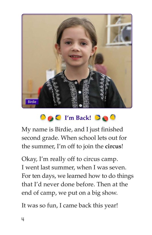 Book Preview For Off to Join the Circus Page 4
