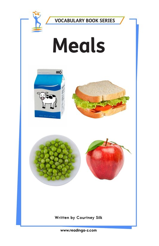 Book Preview For Meals Page 1