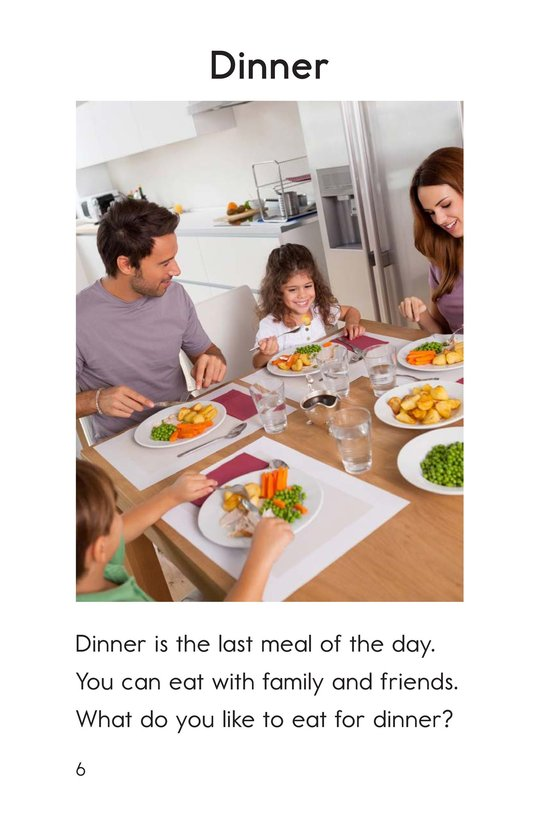 Book Preview For Meals Page 6