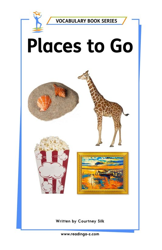 Book Preview For Places to Go Page 1