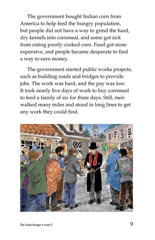 Book Preview For The Great Hunger Page 9