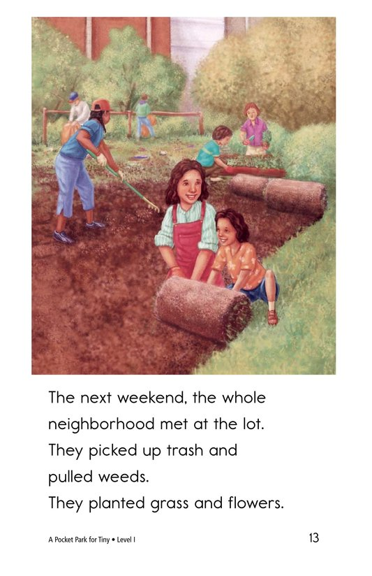 Book Preview For A Pocket Park for Tiny Page 13