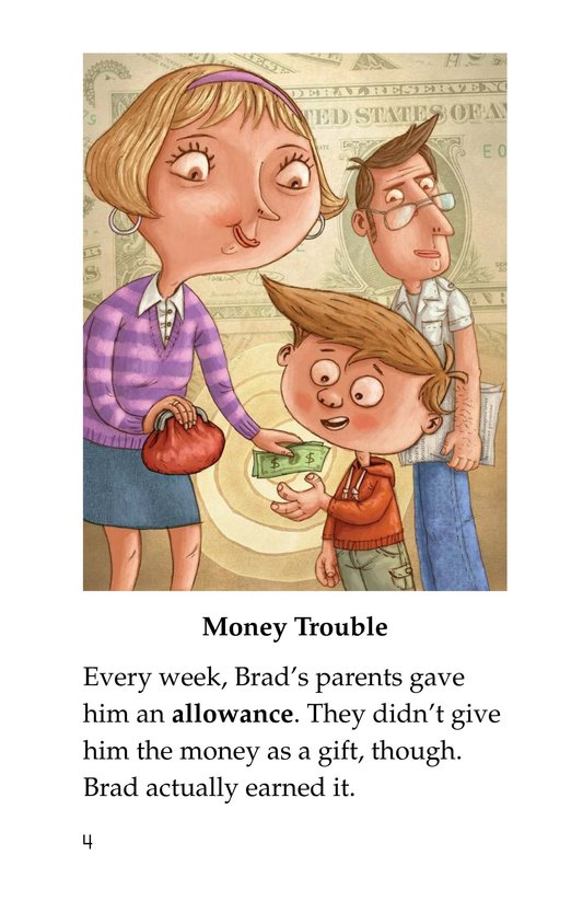 Book Preview For Brad Needs a Budget Page 4