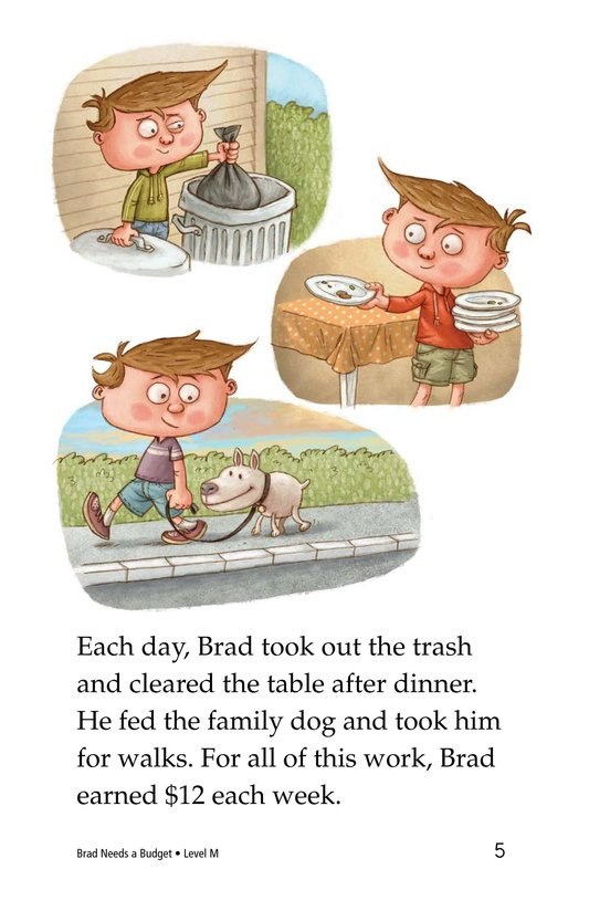 Book Preview For Brad Needs a Budget Page 5