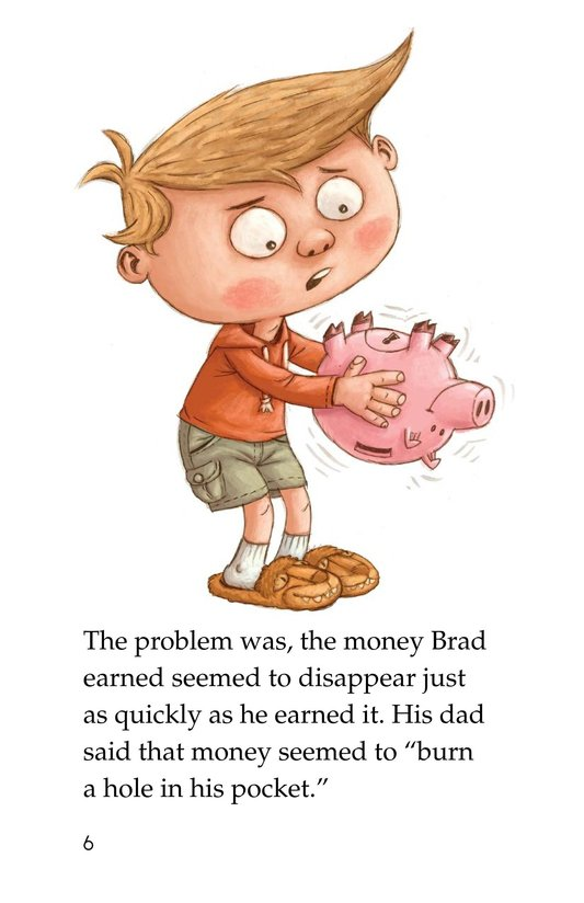 Book Preview For Brad Needs a Budget Page 6