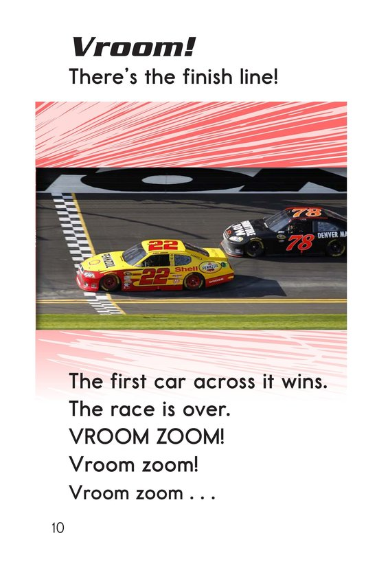Book Preview For Vroom Zoom! It's Race Day Page 10