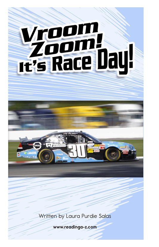 Book Preview For Vroom Zoom! It's Race Day Page 2