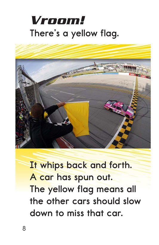 Book Preview For Vroom Zoom! It's Race Day Page 8