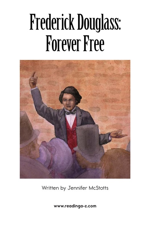 Book Preview For Frederick Douglass: Forever Free Page 2