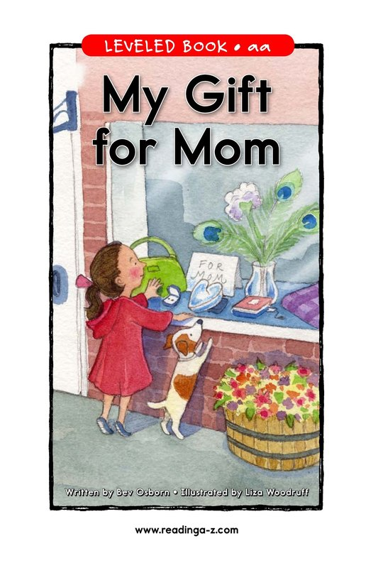 Book Preview For My Gift for Mom Page 1