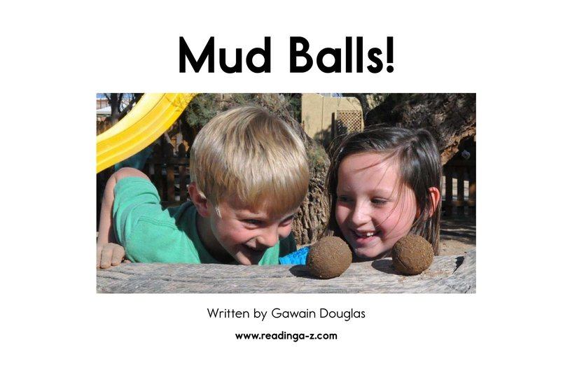 Book Preview For Mud Balls! Page 2