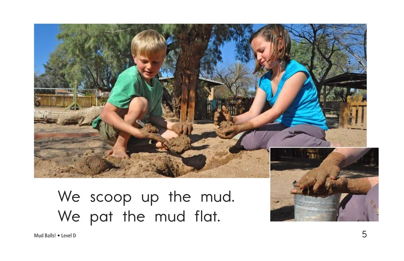 Book Preview For Mud Balls! Page 5