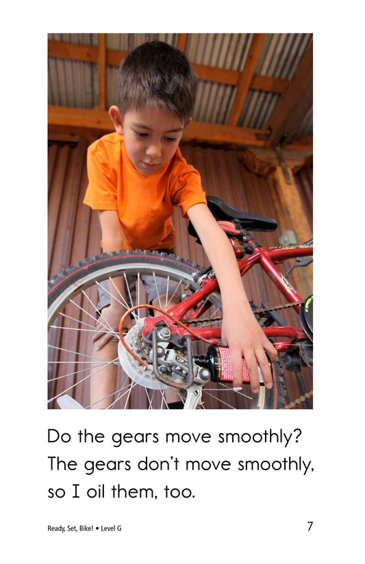 Book Preview For Ready, Set, Bike! Page 7