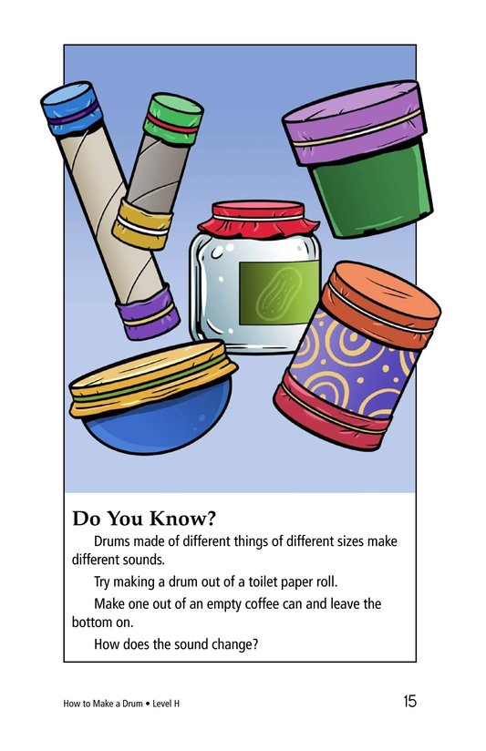 Book Preview For How to Make a Drum Page 15