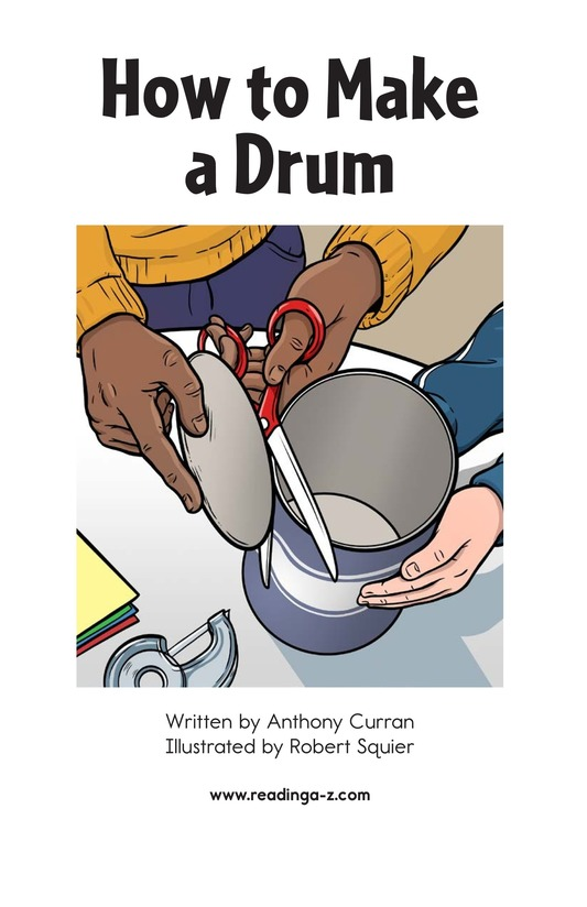 Book Preview For How to Make a Drum Page 2
