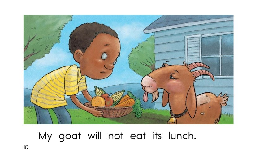 Book Preview For The Hungry Goat Page 10