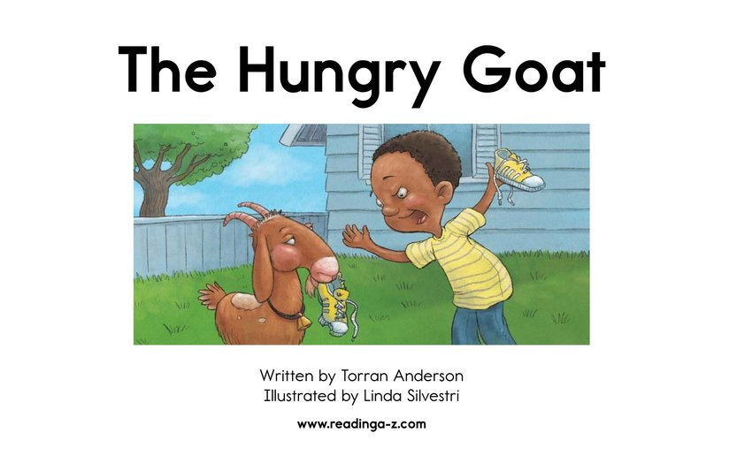 Book Preview For The Hungry Goat Page 2