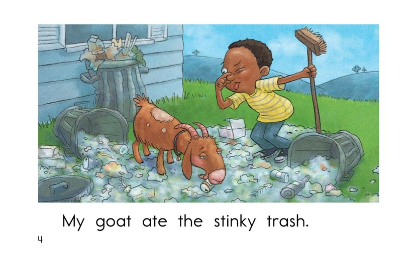 Book Preview For The Hungry Goat Page 4