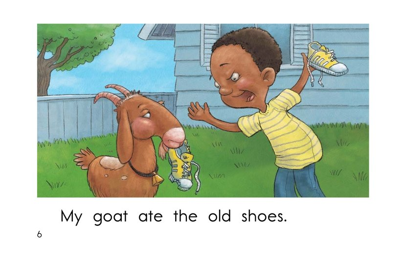 Book Preview For The Hungry Goat Page 6