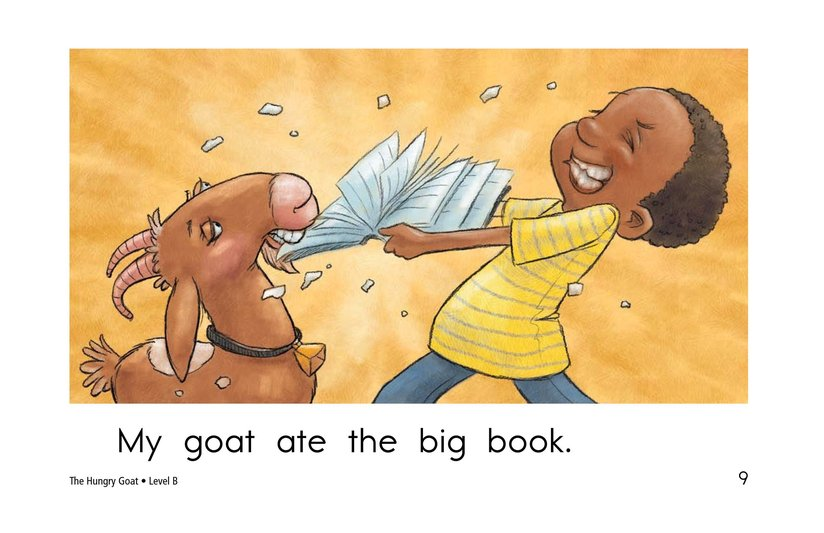 Book Preview For The Hungry Goat Page 9
