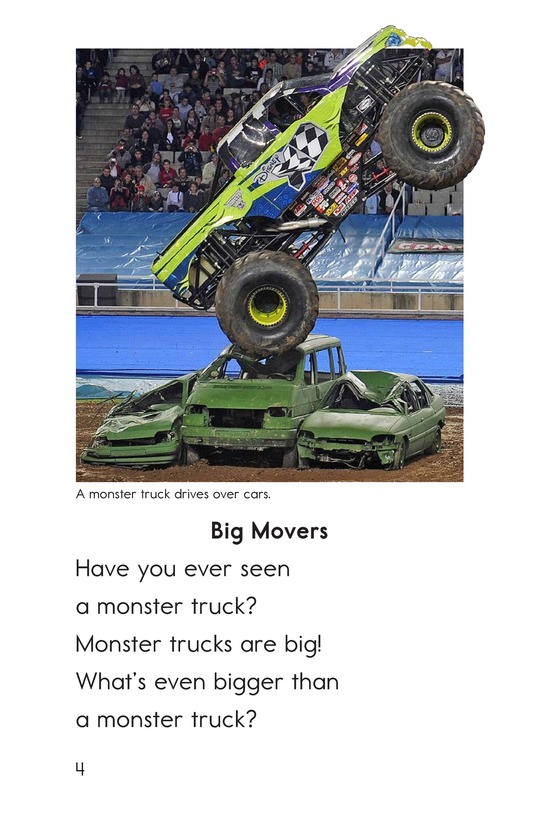 Book Preview For Bigger Than a Monster Truck Page 4