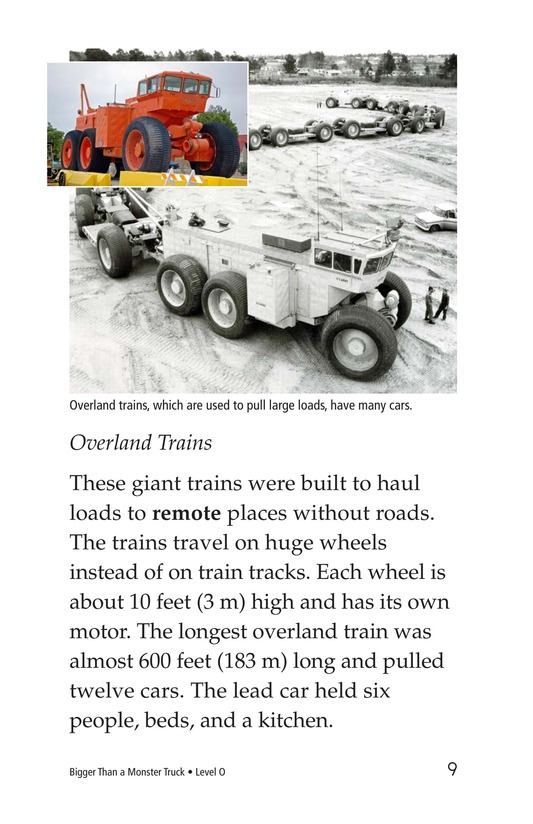 Book Preview For Bigger Than a Monster Truck Page 9