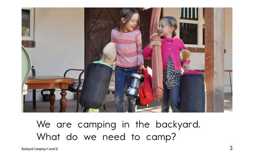 Book Preview For Backyard Camping Page 3