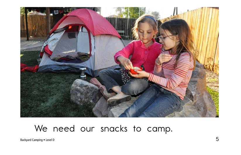 Book Preview For Backyard Camping Page 5