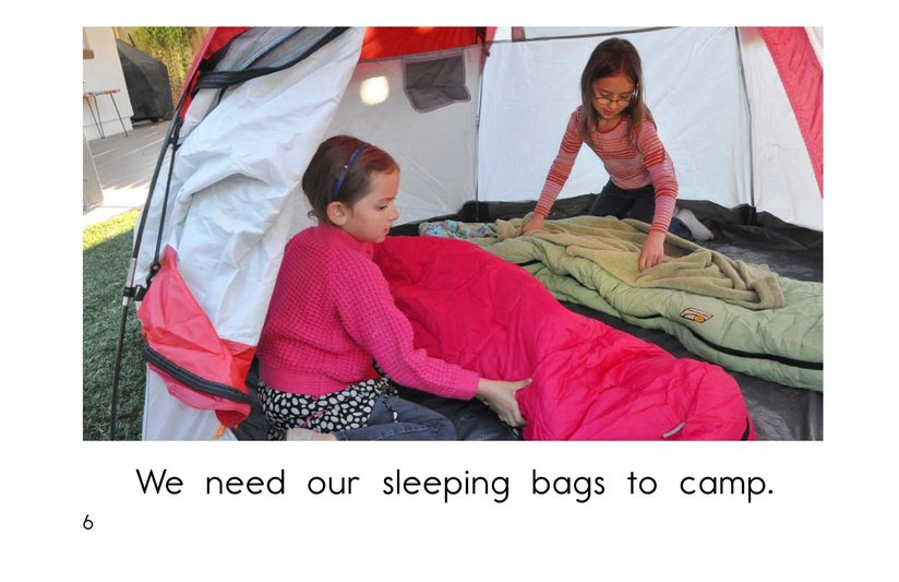 Book Preview For Backyard Camping Page 6