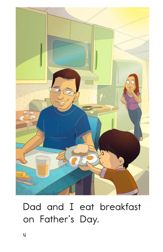 Book Preview For A Day for Dad Page 4