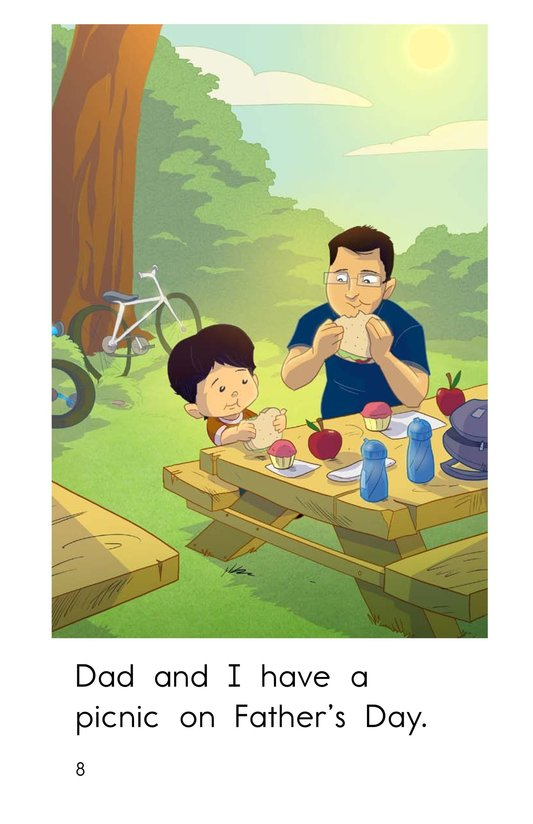 Book Preview For A Day for Dad Page 8