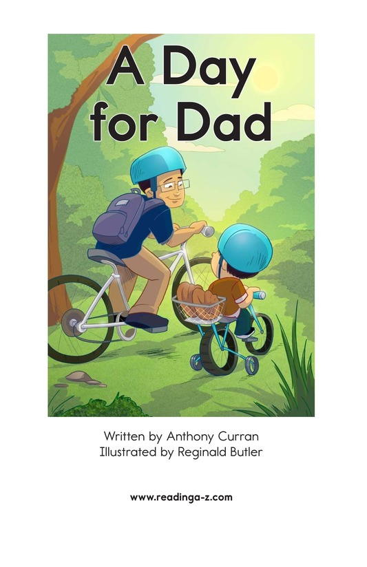 Book Preview For A Day for Dad Page 2